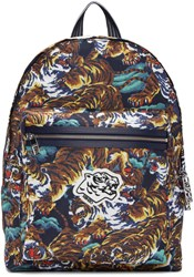 Kenzo Multicolor Flying Tigers Backpack