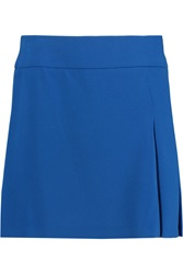 Joseph Harold Pleated Crepe Mini Skirt
