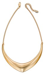 Fiorelli Costume Matt Gold Collar Necklace