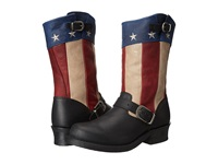 Durango Soho 11 Flag Engineer Black Patriotic Cowboy Boots