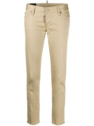 Dsquared2 Low Rise Slim Fit Trousers 60