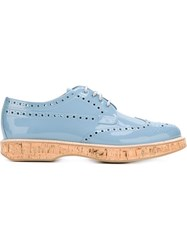 Church's 'Keely' Brogue Shoes Blue