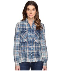 Joe's Jeans Aislin Shirt Red Indigo Women's Clothing Multi