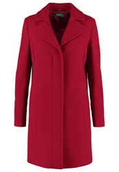 United Colors Of Benetton Classic Coat Red