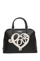 Love Moschino Printed Carryall Black