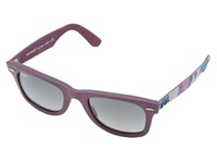 Ray Ban Rb2140 Original Wayfarer Urban Camouflage 50Mm Matte Violet Fashion Sunglasses Burgundy