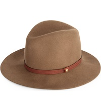 Rag And Bone Floppy Brim Fedora Hat Pecan