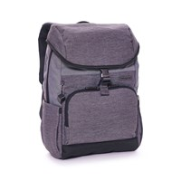 Hedgren Light Grey Backpack With Flapover Fastening Light Grey