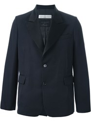 Golden Goose Deluxe Brand Peaked Lapel Dinner Jacket Blue
