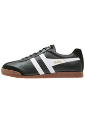 Gola Harrier Trainers Black White