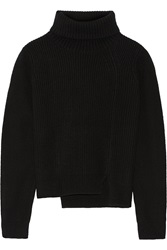 Proenza Schouler Ribbed Wool And Cashmere Blend Turtleneck Sweater
