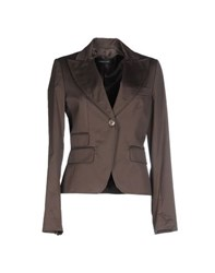 Lorna Bose' Suits And Jackets Blazers Women Dark Brown