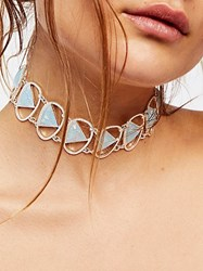 Free People Kawaii Stone Open Choker By