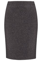 Hobbs Lizzie Pencil Skirt Navy Camel Brown