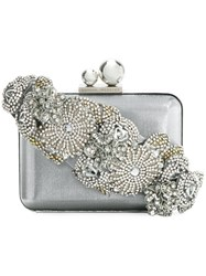 Sophia Webster Box Clutch Polyester Grey