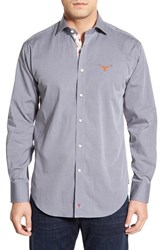 Men's Thomas Dean 'Texas Longhorns' Regular Fit Long Sleeve Sport Shirt