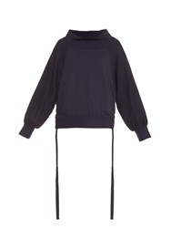 Yohji Yamamoto Regulation Oversized Long Sleeved Sweater