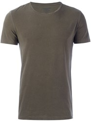 Majestic Filatures Round Neck T Shirt Green