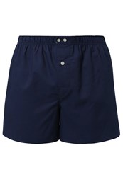 Gap Oxford Boxer Shorts Vintage Navy Dark Blue