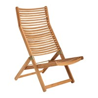 Pols Potten Rdam Relax Chair Teak