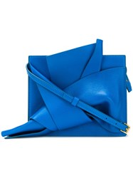 N 21 No21 Abstract Bow Cross Body Bag Blue