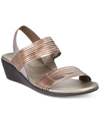 Bare Traps Melody Sandals Women's Shoes Pewter Bronze