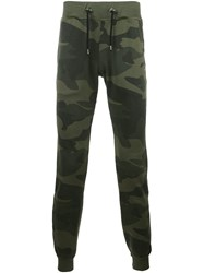 Hydrogen Camouflage Track Pants Green