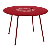 Fermob Lorette Garden Table Poppy