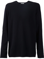 Christophe Lemaire Crew Neck Sweater Blue