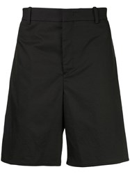 Wooyoungmi Tailored Fitted Shorts Black
