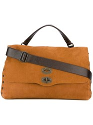 Zanellato 'Postina' Messenger Bag Brown