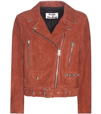 Acne Studios Mock Suede Jacket Brown
