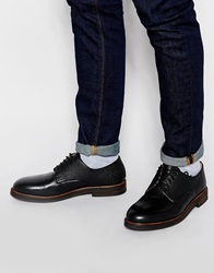 H By Hudson Challow Derby Shoes Black