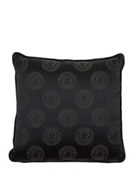 Versace Medusa Royale Silk Pillow Black