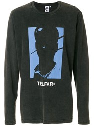 Telfar Printed Sweatshirt Black