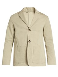 Acne Studios Manou Salt Cotton Drill Blazer Beige