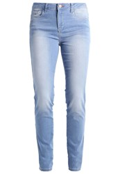 H.I.S Marylin Slim Fit Jeans Pure Ultra Light Blue Bleached Denim