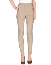 Gaudi' Trousers Casual Trousers Women Sand