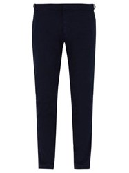 Orlebar Brown Campbell Slim Leg Cotton Trousers Navy