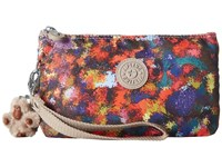 Kipling Creativity Xl Printed Pouch Harvest Dream Clutch Handbags Red