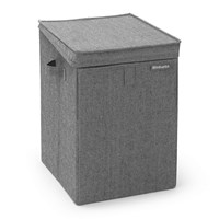 Brabantia Stackable Laundry Box Pepper Black