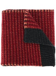 Pringle Of Scotland Knitted Wool Scarf 60