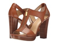 Michael Michael Kors Berkley Sandal Luggage Vacheta Women's Dress Sandals Brown