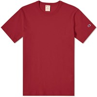 Champion Reverse Weave Classic Tee Red