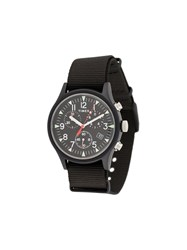 Timex Mk1 Aluminium Chronograph 40Mm Watch Black
