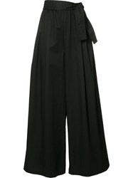 Tome Long Karate Trousers Black