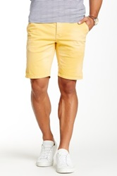 Scotch And Soda Contrast Cuff Short Yellow