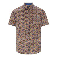 Pretty Green Leyside Short Sleeve Shirt Multi