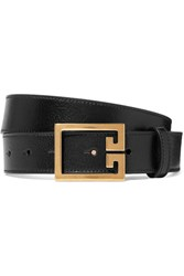 Givenchy Textured Leather Belt Black Gbp