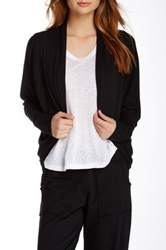 Hodges Collection Long Sleeve Cocoon Cardigan Black